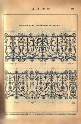 SAL_V1900_PL408 – Disposition des raccords du grand balcon n° 271