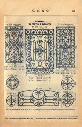 SAL_V1900_PL632 – Panneaux de portes et impostes