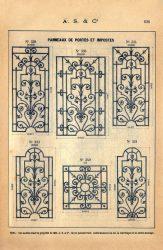 SAL_V1900_PL636 – Panneaux de portes et impostes
