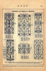 SAL_V1900_PL648 – Panneaux de portes et impostes