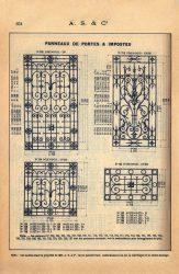 SAL_V1900_PL651 – Panneaux de portes et impostes