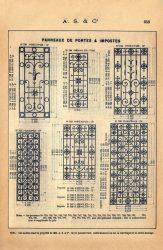 SAL_V1900_PL652 – Panneaux de portes et impostes