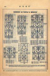 SAL_V1900_PL653 – Panneaux de portes et impostes