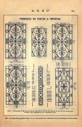 SAL_V1900_PL654 – Panneaux de portes et impostes