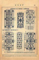 SAL_V1900_PL656 – Panneaux de portes et impostes