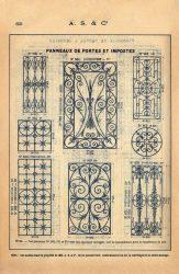 SAL_V1900_PL659 – Panneaux de portes et impostes