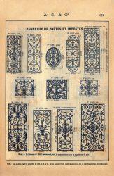 SAL_V1900_PL662 – Panneaux de portes et impostes