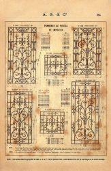 SAL_V1900_PL664 – Panneaux de portes et impostes