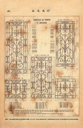 SAL_V1900_PL665 – Panneaux de portes et impostes