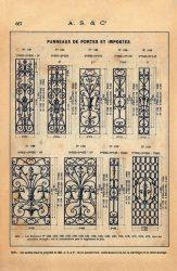 SAL_V1900_PL667 – Panneaux de portes et impostes