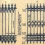 SAL_V1900_PL728 - Grilles de clôture en fonte et fer - Image2