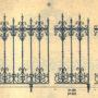 SAL_V1900_PL730 - Grilles de clôture en fonte - Image1