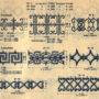 SAL_V1900_PL734 - Frises courantes et entre-deux de grilles - Image1