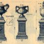 SAL_V1900_PL769 - Socles avec vases et urne - Image1