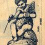 SAL_V1900_PL772 - Vasque - Enfant à l'Oie - Image3