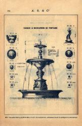 SAL_V1900_PL773 – Vasque et mascarons de fontaine