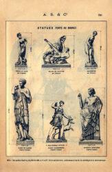 SAL_V1900_PL780 – Statues fonte ou bronze