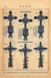 SAL_V1900_PL857 – Croix rectangulaires – Croix ronde-bosse rustiques