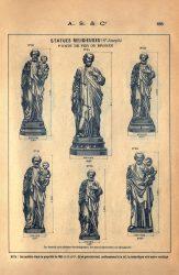SAL_V1900_PL888 – Statues religieuses (St Joseph)