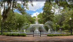 Fontaine – Forsyth Park – Savannah – USA