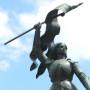 Monument à Jeanne d'Arc - Saint-Pierre-le-Moûtier - Image9
