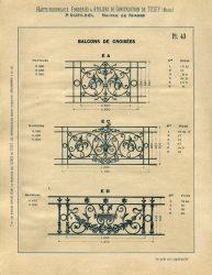 TU_DU_1897_PL043 – Balcons de croisées