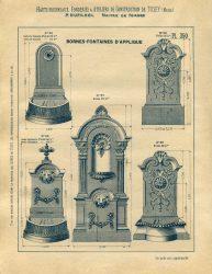 TU_DU_1897_PL350 – Bornes-fontaines d'applique