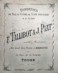 TALLIBOT et PIAT