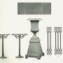 VIR_1893_PL03 - Plaques à damiers, vases Médicis, pieds de table, grilles d'entourage - Image3