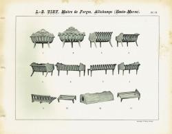 VIR_1893_PL11 – Grilles pour intérieurs de cheminée et de poêle, bûches économiques