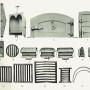 VIR_1893_PL13 - Barreaux, grilles, bouches et portes de four, coquilles à rôtir, fers à repasser, chaufferettes, arceaux - Image1