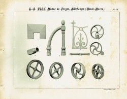 VIR_1893_PL19 – Tuyères, chasse-roues, balustrades, engrenages, poulies