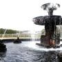 Bassins (2) - fontaine et grenouilles - Parc du Château - Vaux-le-Vicomte - Image2