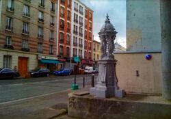 Fontaine Wallace – Avenue Paul Vaillant Couturier – Paris (75014)