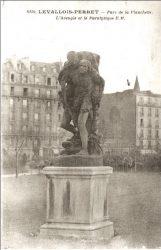 L'Aveugle et le paralytique (fondu) – Levallois-Perret