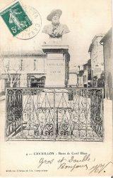 Monument  à Castil Blaze – Cavaillon – (fondu) (remplacé)