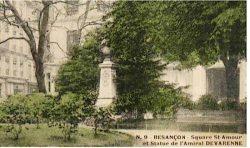 Monument à l'amiral Devarenne (fondu) – Besançon