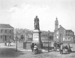 Monument au duc de Morny – Deauville (fondu)