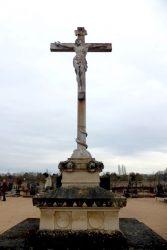 Christ en croix – Cimetière – Monnaie